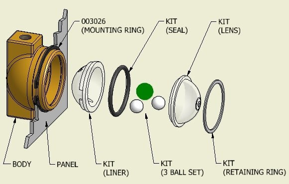 Visual Flow Indicators General Spare Parts - Production Engineering